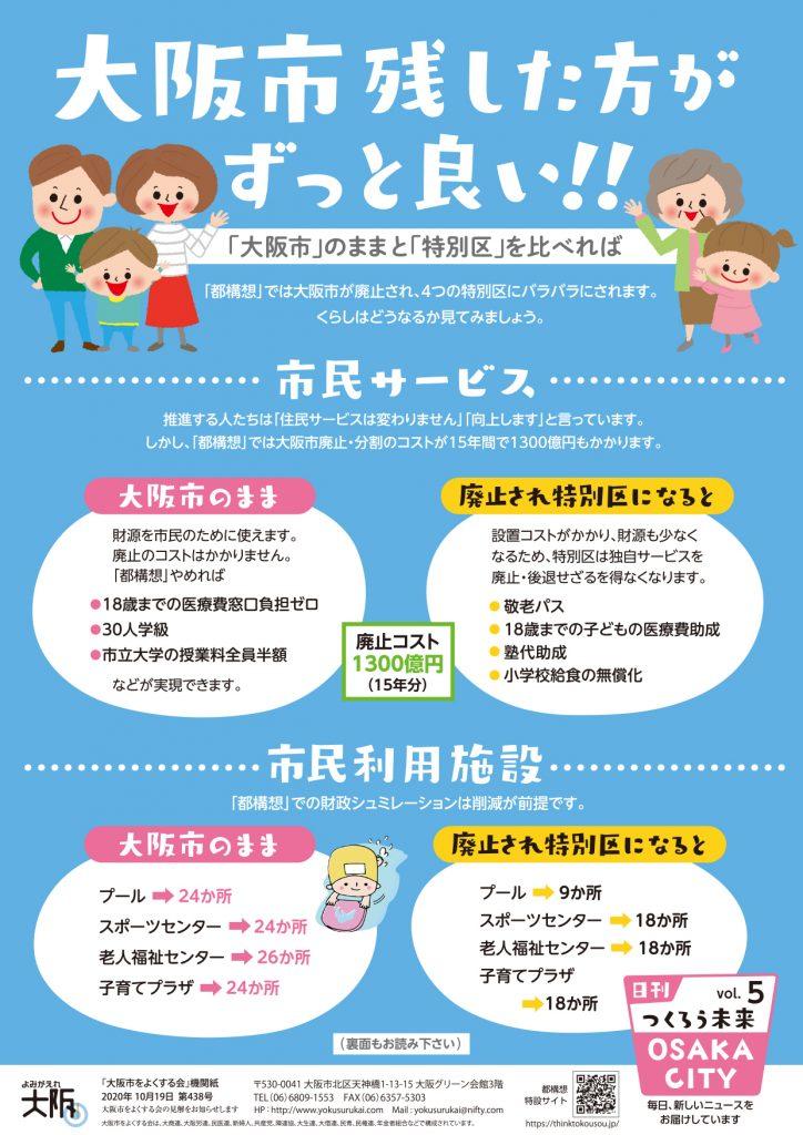 日刊つくろう未来 vol.5(ニュース438号)表